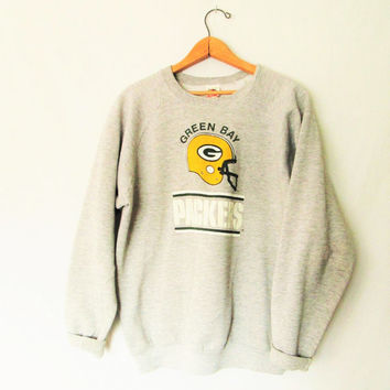 Vintage Green Bay Packer Football Sweatshirt