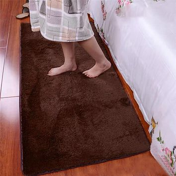Polyester Soft Fluffy Rugs