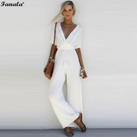 Women Chiffon Casual Jumpsuits & Rompers 0944-60