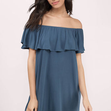 Annie Off Shoulder Day Dress