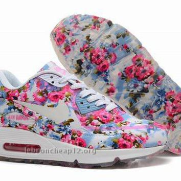 Nike Air Max 90 Floral Print Womens Jade Wild Rose Training Shoes ,Buy Nike Air Max 90 Floral Print Womens Jade Wild Rose Training Shoes On Sale.-Buy Original Retro Air Jordan Shoes Online - Cheap Jordan Shoes,Retro Jordan Shoes,Women Air Jordan High Heels