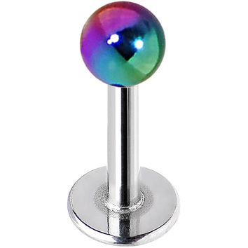 16 Gauge Metallic Acrylic End of the Rainbow Labret Monroe 1/4""