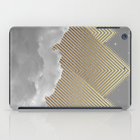 Silence is the Golden Mountain (Stay Gold) iPad Case by Soaring Anchor Designs