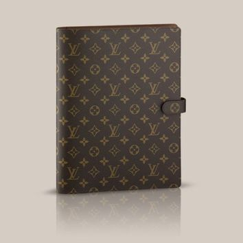 Cover Bloc A4 - Louis Vuitton  - LOUISVUITTON.COM