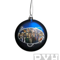 Doctor Who 11 Doctors Glass Ball Ornament