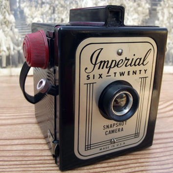 Imperial Six-Twenty Snapshot Camera Mid Century with Strap