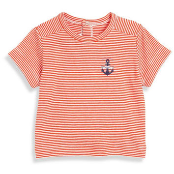 Petit Bateau Baby Boys Pinstriped Nautical T-shirt