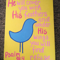 Religious Quote Canvas