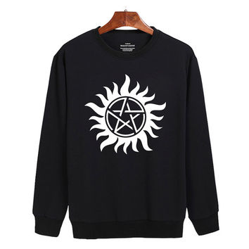 Supernatural tattoo  Sweater sweatshirt unisex adults size S-2XL