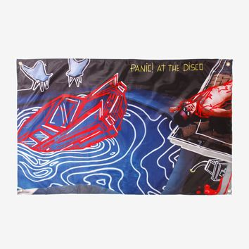 Panic! At The Disco Death Of A Bachelor Fabric Poster