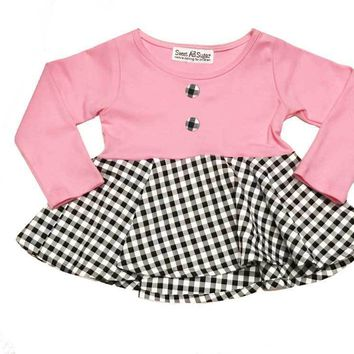 Sweet as Sugar Couture Parisian Fille Peplum Blouse