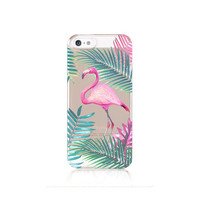Flamingo iPhone 6 Case Clear iPhone 5 Case Clear Flamingo iPhone 5 Case iPhone 6 Case Flamingo iPhone 5 Case Samsung Galaxy S5 Case Clear