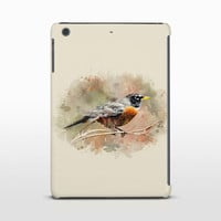 Bird Art Tablet Case, American Robin, Bird Art Cover, iPad 4, Samsung Galaxy Tab, Galaxy Note, Ipad Mini Cases