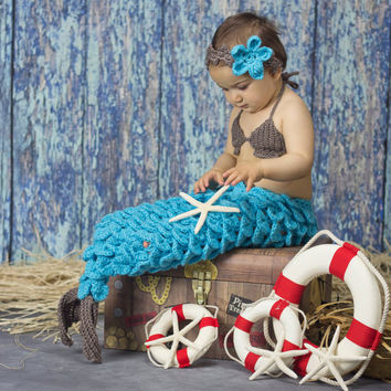 Crochet Mermaid Tail, Newborn Mermaid, Mermaid Costume, Infant Mermaid Tail, Toddler Mermaid Costume, Baby Mermaid Tail, Mermaid Photo Prop