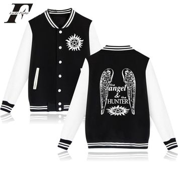 Trendy 2017 Supernatural printed hoodie Winter Baseball Jacket bomber jacket men women tracksuit survetement  Jacket and coat AT_94_13