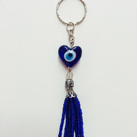 Eye Heart Key Chain