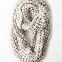 AEO Women's Chunky Knit Loop Scarf