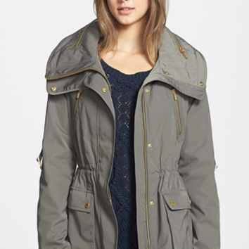 BCBGMAXAZRIA 'Brooke' Four-Pocket Anorak