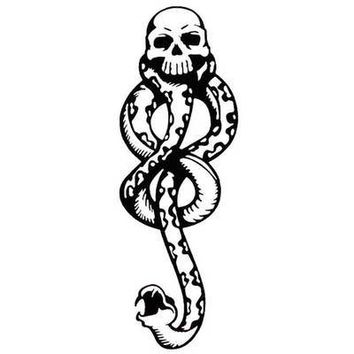 Harry Potter DEATH EATERS Flash Tattoo