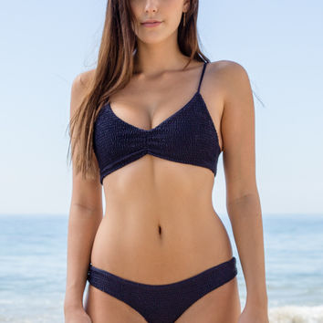 Mary Grace Swim - Gili Girl Top | Darkness