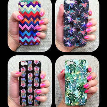 FALLING PALMS - Tropical Phone Case  iphone 5/ 5S / 4/ 4S Samsung 3/4