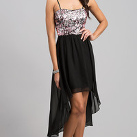 High Low Spaghetti Strap Dress