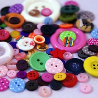 Button Bag- 50g Mix Of Exciting Buttons.