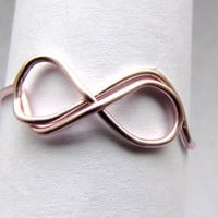 Eternal Love Ring/Infinity Ring - Adjustable, Customizable