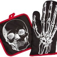 X-Ray Skeleton Kitchen Set