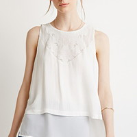 Button-Back Layered Top
