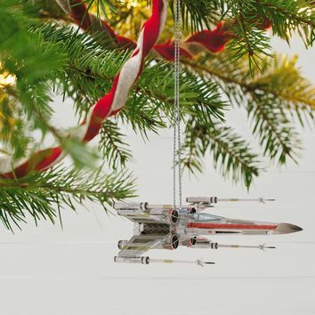 Star Wars X-Wing Starfighter Sound Ornament With Light Sci-Fi