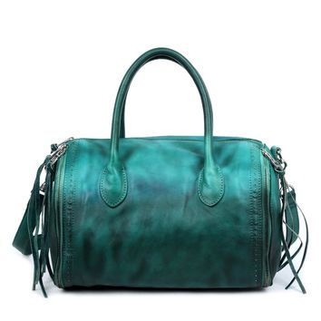 Sunny Hill Leather Satchel