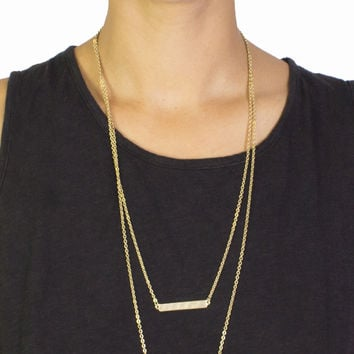 Double Plated Necklace