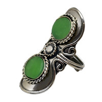 Stone Adjustable Ring on Sale for $12.99 at HippieShop.com