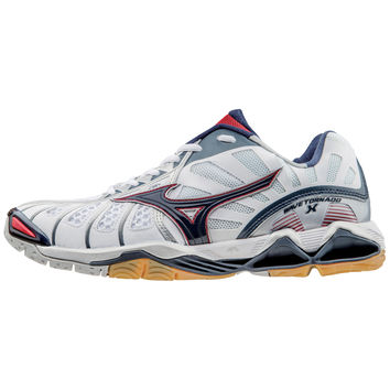 Mizuno Wave Tornado X Mens - White Navy