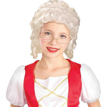 Costume Accessory: Wig Colonial Girl