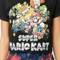 Super Mario Kart Raw-Cut Tee