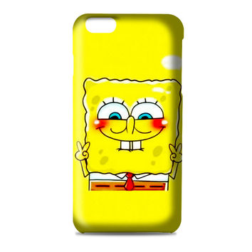 spongebob and patrick best friend 1 cartoon couple 3D Iphone | 4s | 5s | 5c | 6s | 6s Plus | Case