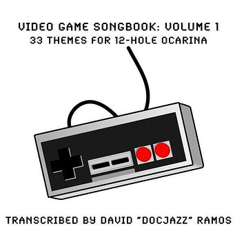 Video Game Songbook for the 12 Hole Ocarina