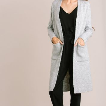 Raynelle Soft Heathered Cardigan