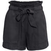 Shorts with Tie Belt - from H&M