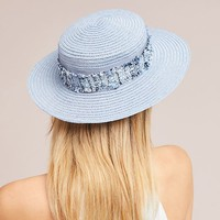 Eugenia Kim Brigette Tweed Boater Hat
