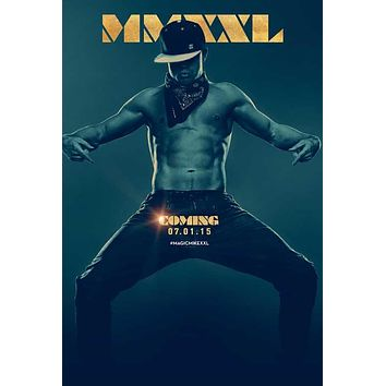 Magic Mike XXL 27x40 Movie Poster (2015)