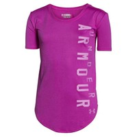 Under Armour Youth Girl's UA Your Favorite Tech Shirt