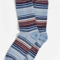 Multicolor Thin Stripe Sock