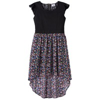 Disney D-Signed Floral Lace High-Low Dress - Girls