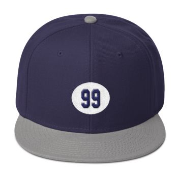 Judge 99 Snapback Hat