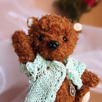 Artist teddy bear Virginia from Ukraine/ Ozerova Alyona