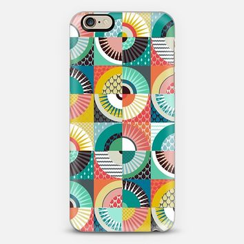 llama geo squares iPhone 6 case by Sharon Turner | Casetify