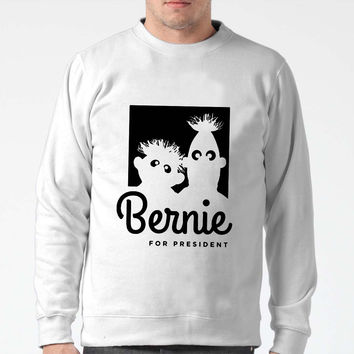 Bernie Sanders For President Bert And Ernie Sweater Man And Sweater Woman
